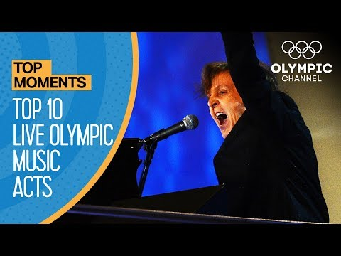 Top 10 Olympic Live Music Performances of All Time   Top Moments