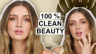 Full Face Using CLEAN BEAUTY 🌿