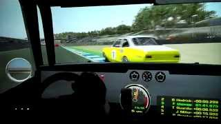 Barry Hedrick vs Fahn Thomas - Trans Am under 2 L - Laguna Seca