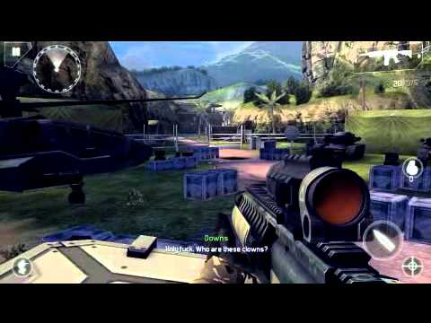 Modern combat 4 mtk6577(powervr sgx 531 ultra) gameplay