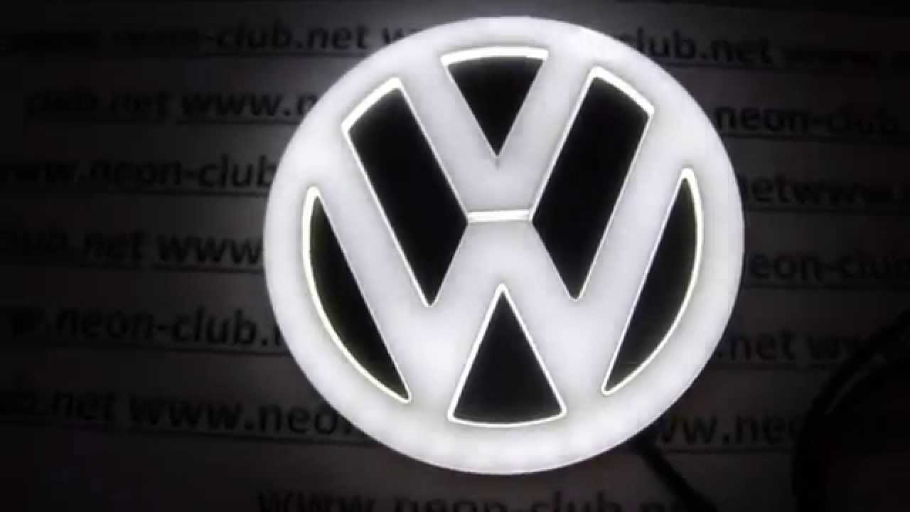 Vw Badges Light Emblem Scirocco Golf 6 Vw Bora Cc