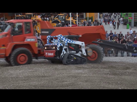 Doosan and Bobcat Demo at Bauma 2013