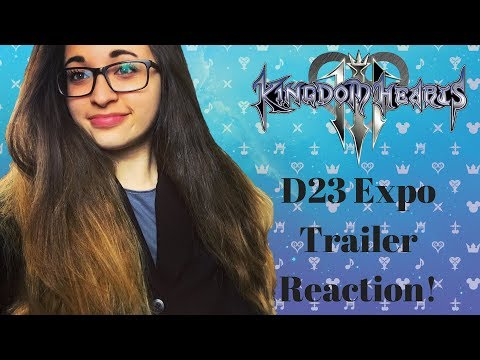 Reacting to Kingdom Hearts III D23 Expo Japan 2018 Trailers!!