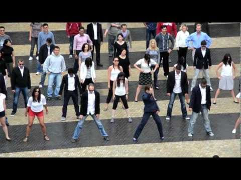 Stanford University Flash Mob - Gangnam Style Parody (Official Version)
