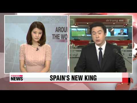 Felipe VI sworn in as Spain's new king