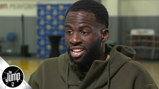 Draymond Green opens up about Kevin Durant fight, free agency, weight loss & NBA Finals | The Jump