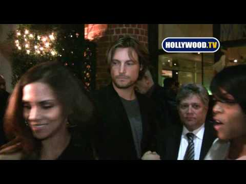 Halle Berry and Baby Daddy Eat at Mr. Chow