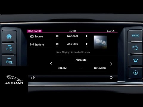 F-PACE  'How To' | InControl Touch Digital Audio Broadcasting DAB 2017