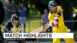 Full highlights: NZ XI too good for Aussies