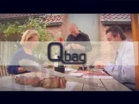The Qbag in Action with BBQ World Champion Peter De Clercq