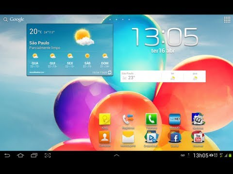 GALAXY TAB 2 - JELLY BEAN - 4.1.2 OFICIAL (PORTUGUES) P5100 - 10.1