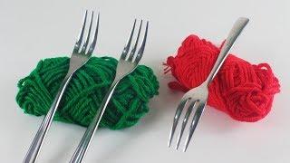 উলের সুতা দিয়ে ইউনিক ক্র্যাফট আইডিয়া   DIY Art and Craft With Wool