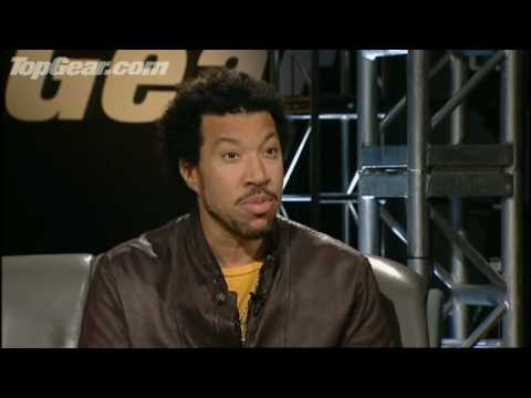 Lionel Richie Celebrity Interview & Lap -Top Gear - BBC autos