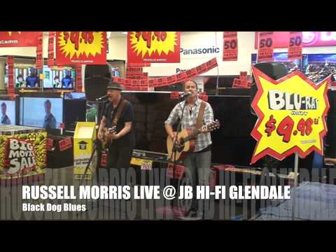 Russell Morris Live At JB HI FI Glendale, Black Dog Blues