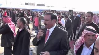 مهرجان زواج الاستاذ زيد نجل النائب الدكتور نايف باشا زيد الدوجان الخزاعله (اكبر وليمة غداء بالاردن)