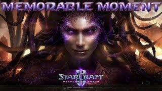 """StarCraft 2: Heart of the Swarm - Sarah Kerrigan Vs. Emil Narud / """"Momentos memoráveis"""""""