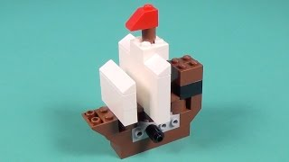 "Lego Pirate Ship Building Instructions - Lego Classic 10693 ""How To"""