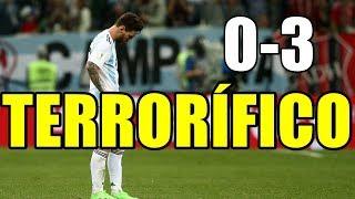 ARGENTINA 0-3 CROACIA MODRIC Y RAKITIC DEJAN AL BORDE DEL KO A MESSI