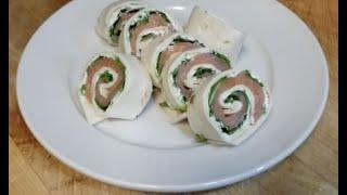 How To Make Smoked Salmon Pinwheels
