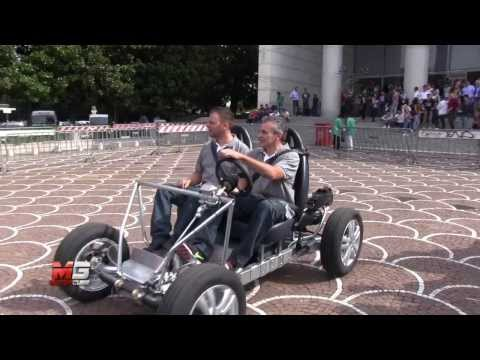 OSVEHICLE TABBY - MAKER FAIRE TEST DRIVE