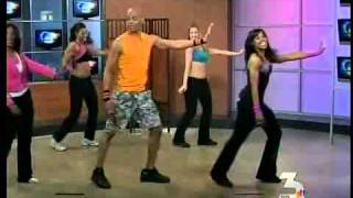 Billy Blanks Jr &amp; Sharon Catherine Blanks NBC VEGAS Baby...