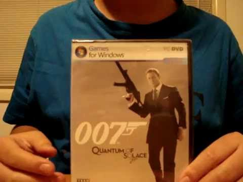 Quantum of Solace PC Unboxing