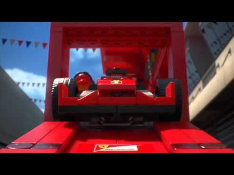Behind-The-Wheel: Ferrari - LEGO Speed Champions