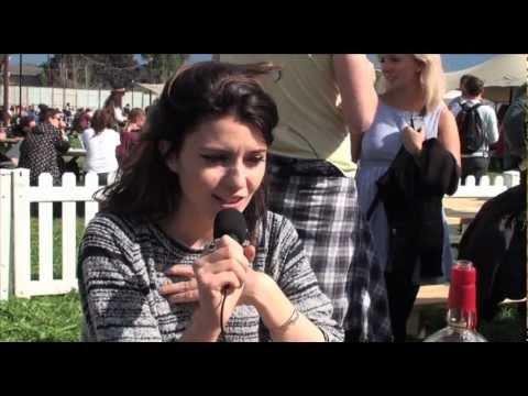 Blood Red Shoes interview at Reading Festival 2012