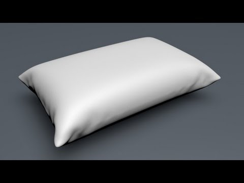 How to Make a Pillow in Cinema 4d Using Cloth