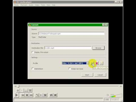How To Encode H264 Streaming MP4