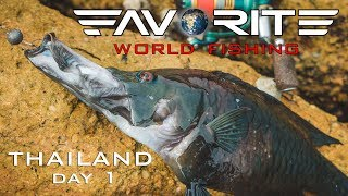 Favorite World Fishing. Thailand. Day 1/??????? ??????? ? ???????. ???????. ???? 1