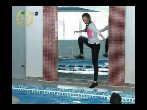 Уроки аквааэробики - видео