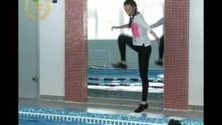 Аквааэробика видео уроки глубокая вода