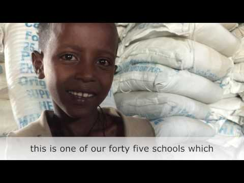 "Thumbnail for video ""Ethiopia drought - school feeding"""