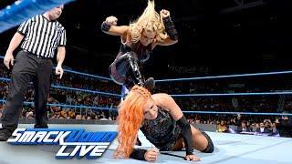 Becky Lynch vs. Natalya: SmackDown LIVE, Aug. 15, 2017