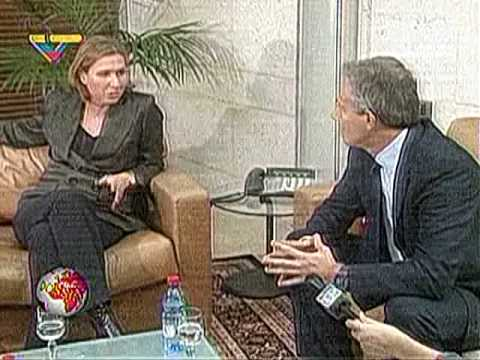 Zipi Livni y Tony Blair