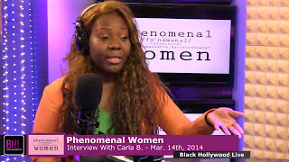 Carla B Interview - Black Hollywood Live