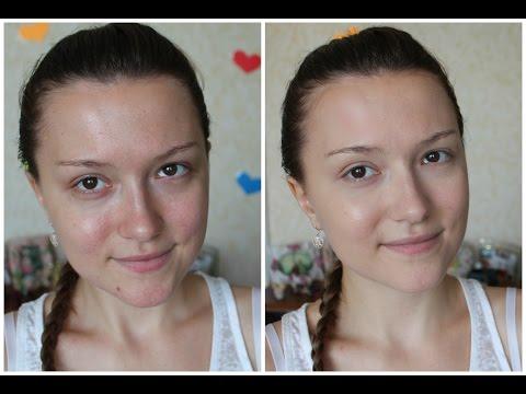 Как я сделала кожу лица чистой