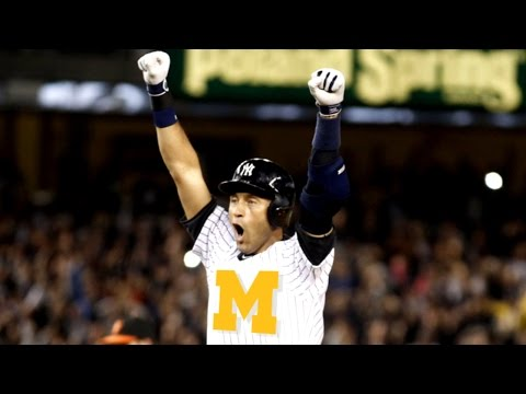 Derek Jeter Repping Michigan In Retirement | CampusInsiders