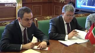 Рустам Минниханов провел встречу с послом Турции в РФ Хюсейином Дириозом