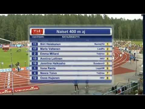 Kalevan Kisat 2010 - N 400m aj