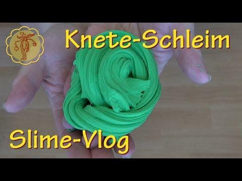 Slime-Vlog: Knete-Schleim - mit Model Magic und mit Playdoh