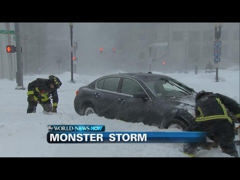Winter Storm Slams the Northeast