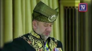 Sultan Muhammad V ditabalkan