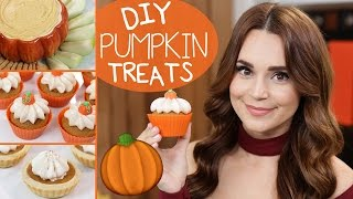 DIY PUMPKIN TREATS!