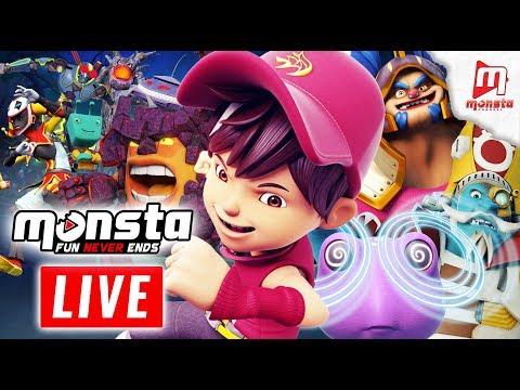 🔴 Monsta TV LIVE 247! - (BoBoiBoy Galaxy, Om Nom Stories, Impian REMI)