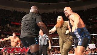 John Cena, Big Show & Mark Henry vs. The Wyatt Family: Raw, Aug. 25, 2014