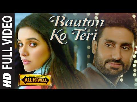 'Baaton Ko Teri' FULL VIDEO Song | Arijit Singh | Abhishek Bachchan, Asin | T-Series