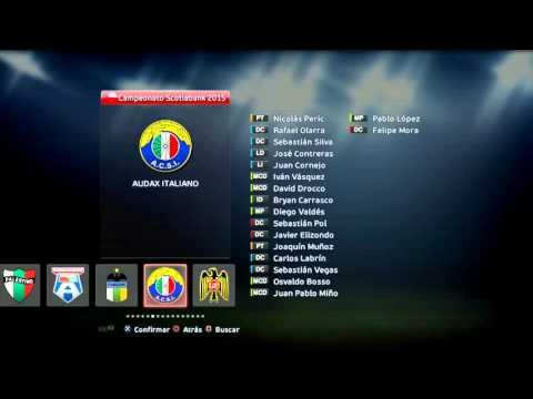 Liga Chilena 2015 para pes 2013 pc