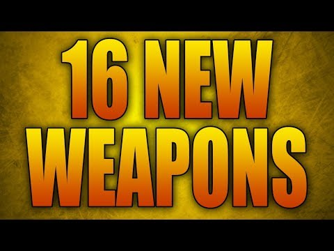 16 NEW WEAPONS COMING TO CALL OF DUTY WW2